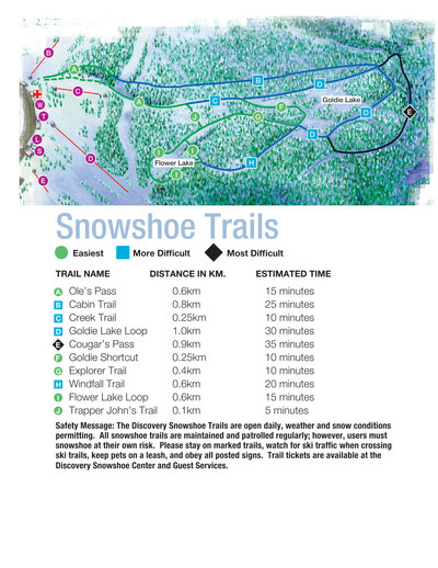 2003-06 Seymour Snowshoe Map