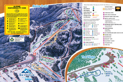 2006-07 Seymour Downhill Map