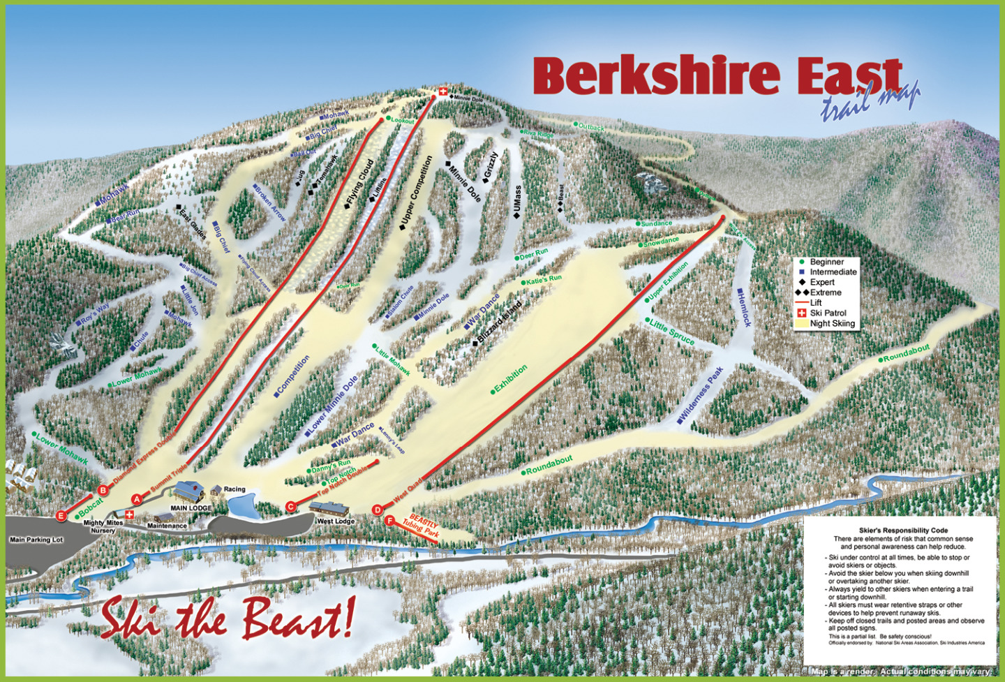 Berkshire east ski area for The berkshire