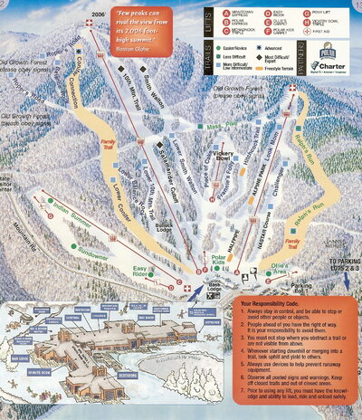 Wachusett 2006 Brochure Trail Map