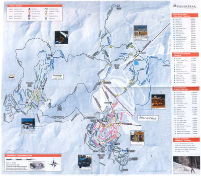 2007-08 Silver Star - Sovereign Lake Nordic Map