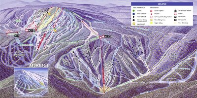 2001-03 Silver Star Downhill Map