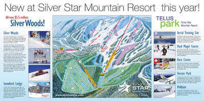 2005-06 Silver Star Whats New Map 2nd Release