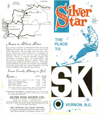 Brochure and Map