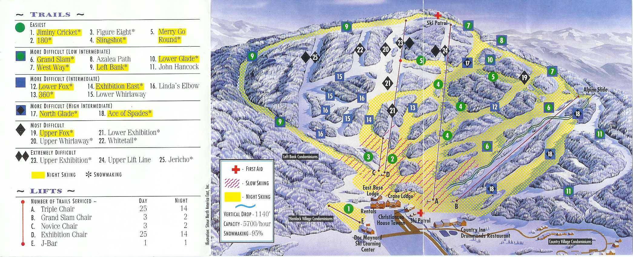 jiminy peak resort - skimap