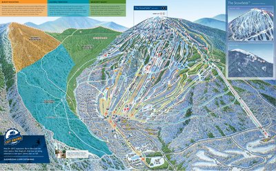 Sugarloaf mountain resort map 2018
