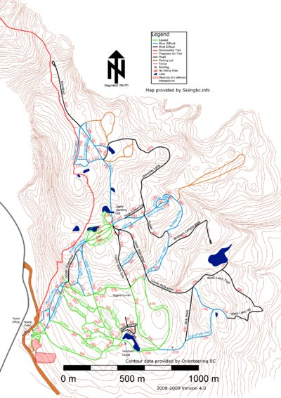 2008-09 Nordic (Skiingbc.info Topo Detail Map)