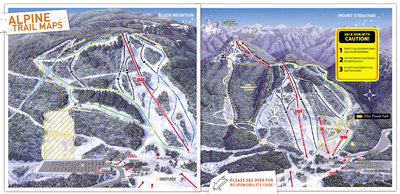 2006-07 Cypress Downhill & Cross Country Maps