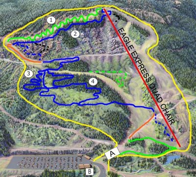 2005 July 16 Cypress Mountain Biking Map