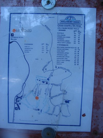 Old Cypress Cross Country Map