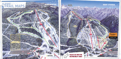 2005-06 Cypress Downhill & Cross Country Maps