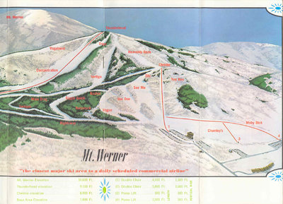 Mt. Werner before the Steamboat expansion.