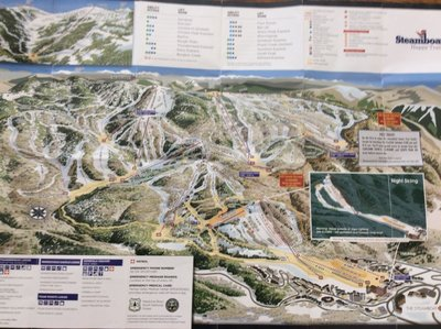 Steamboat ski resort 2017 map