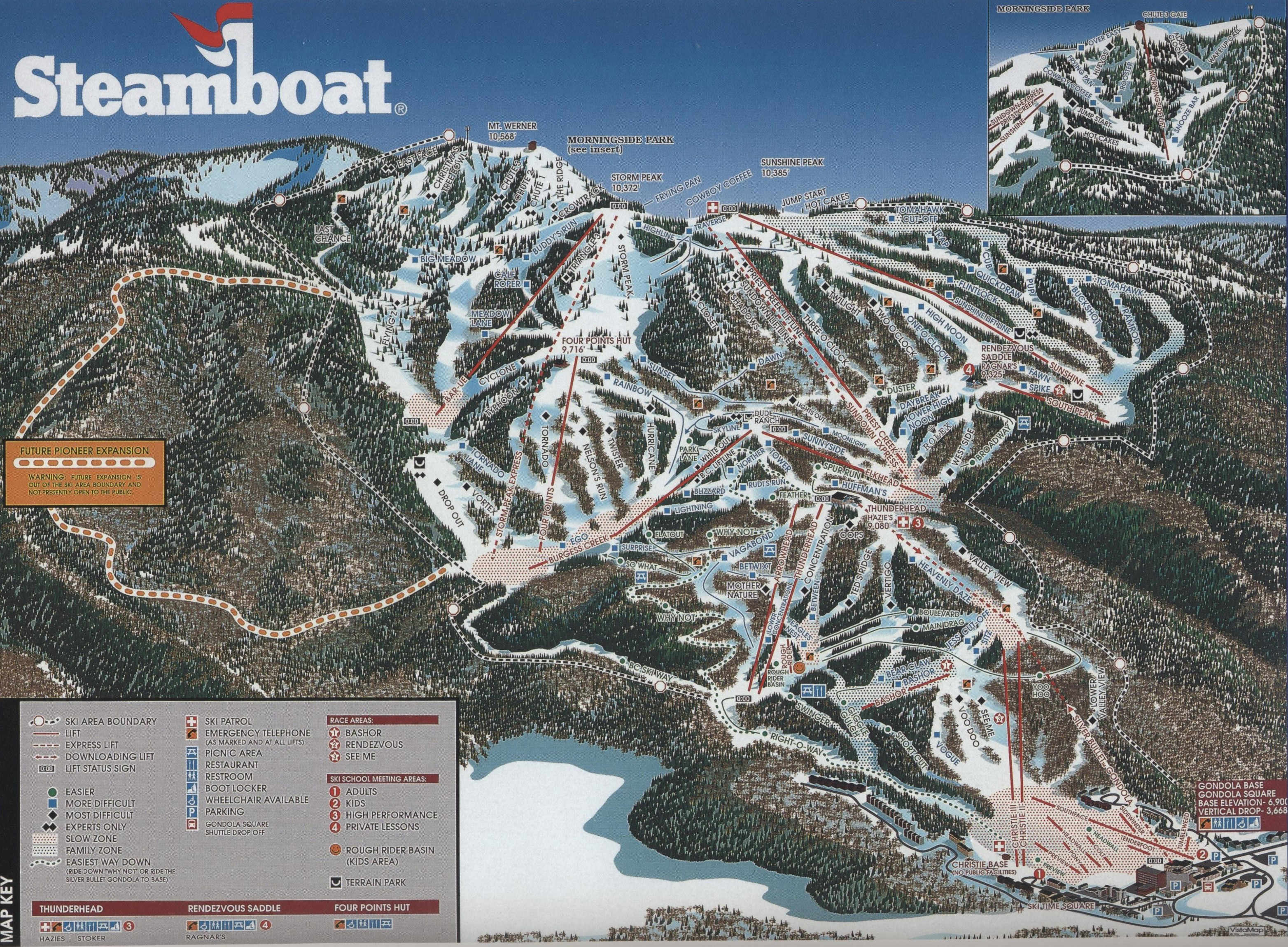 Steamboat Ski Resort - SkiMap.org