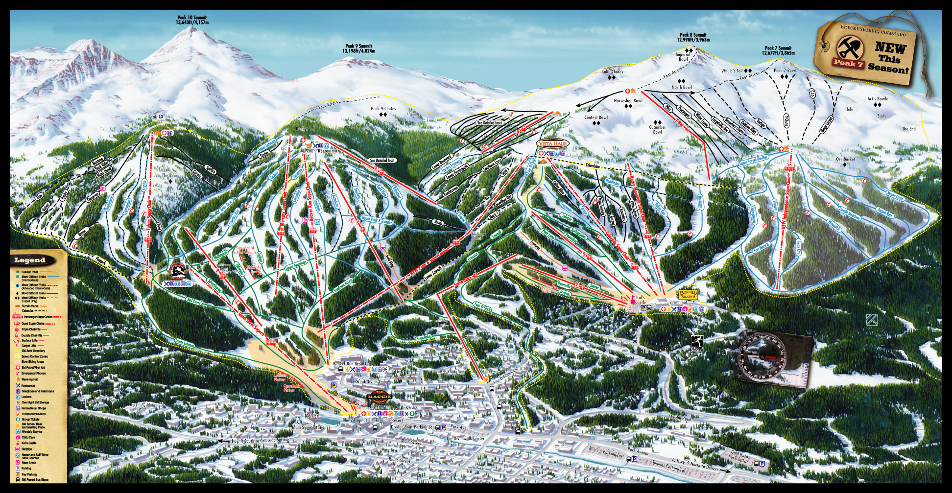 Breckenridge Ski Resort - SkiMap.org on