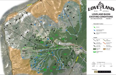 Masterplan for ski runs