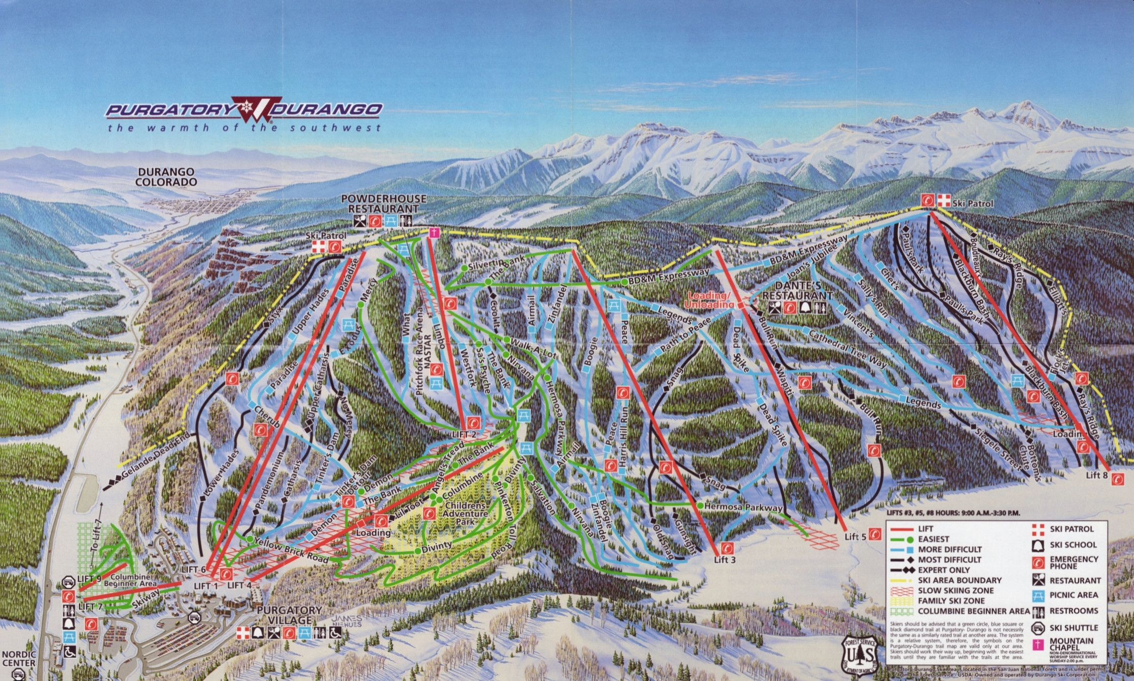 winter park colorado map with 518 on 5 Non Skiing Activities in addition Cave Winds as well Mount Mitchell State Park besides Spotlight Joshua Tree National Park together with Shuttle bus route.
