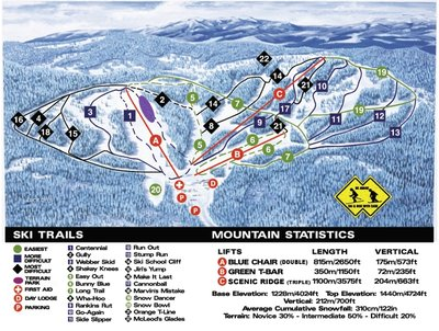 2002-07 Crystal Resort Map