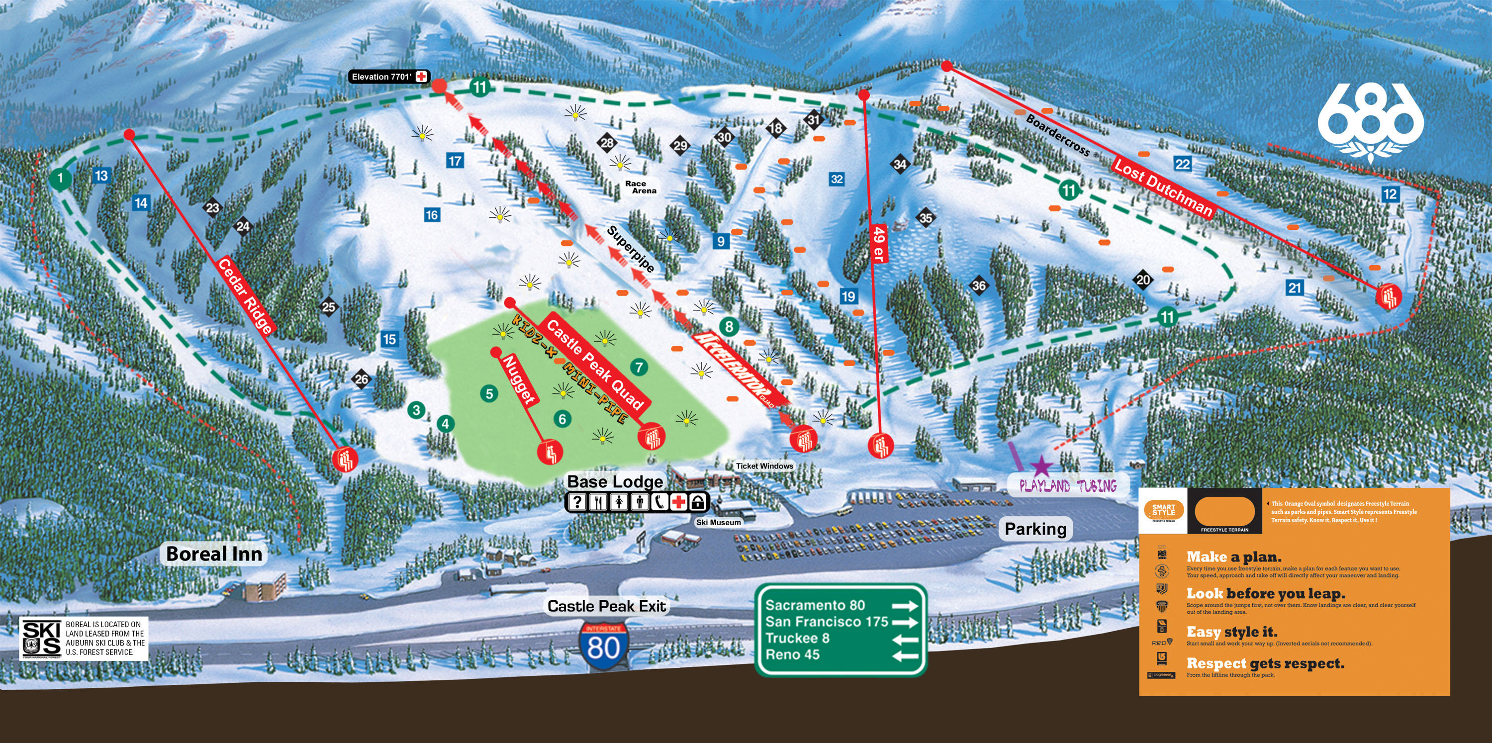 Boreal Mountain Resort - SkiMap.org on