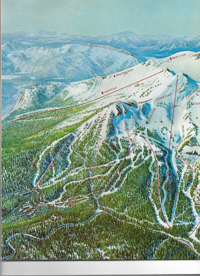 Mammoth Mountain 1972 (left side)