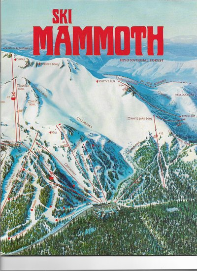 Mammoth Mountain 1972 (right side)
