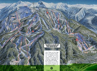 This map is likely 1992, the year Sky Chair was upgraded to a high speed quad.