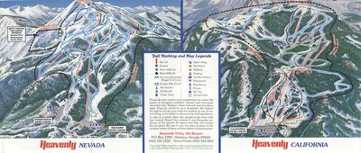 This map is likely 1983.  Boulder is still one chair lift, it was replaced by two separate chairs in 1984.