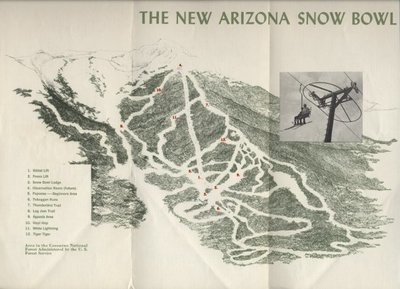 Arizona Snowbowl circa 1960