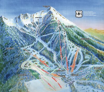 HD downhill only map