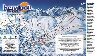 2002-04 Hemlock Valley Map