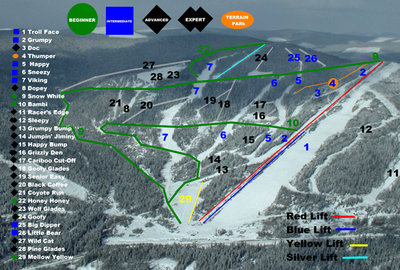 2004-07 Troll Downhill Map