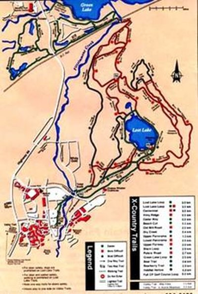 Late 1990s XC Map
