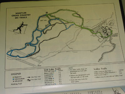 Late 1980s XC Map