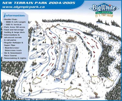 2004-05 Big White Telus Park Conceptual Map