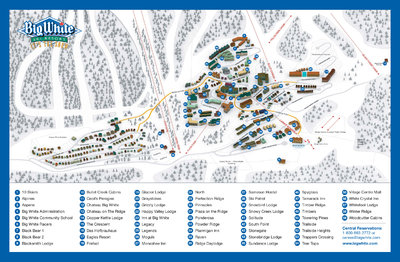 2006-07 Big White Village Map
