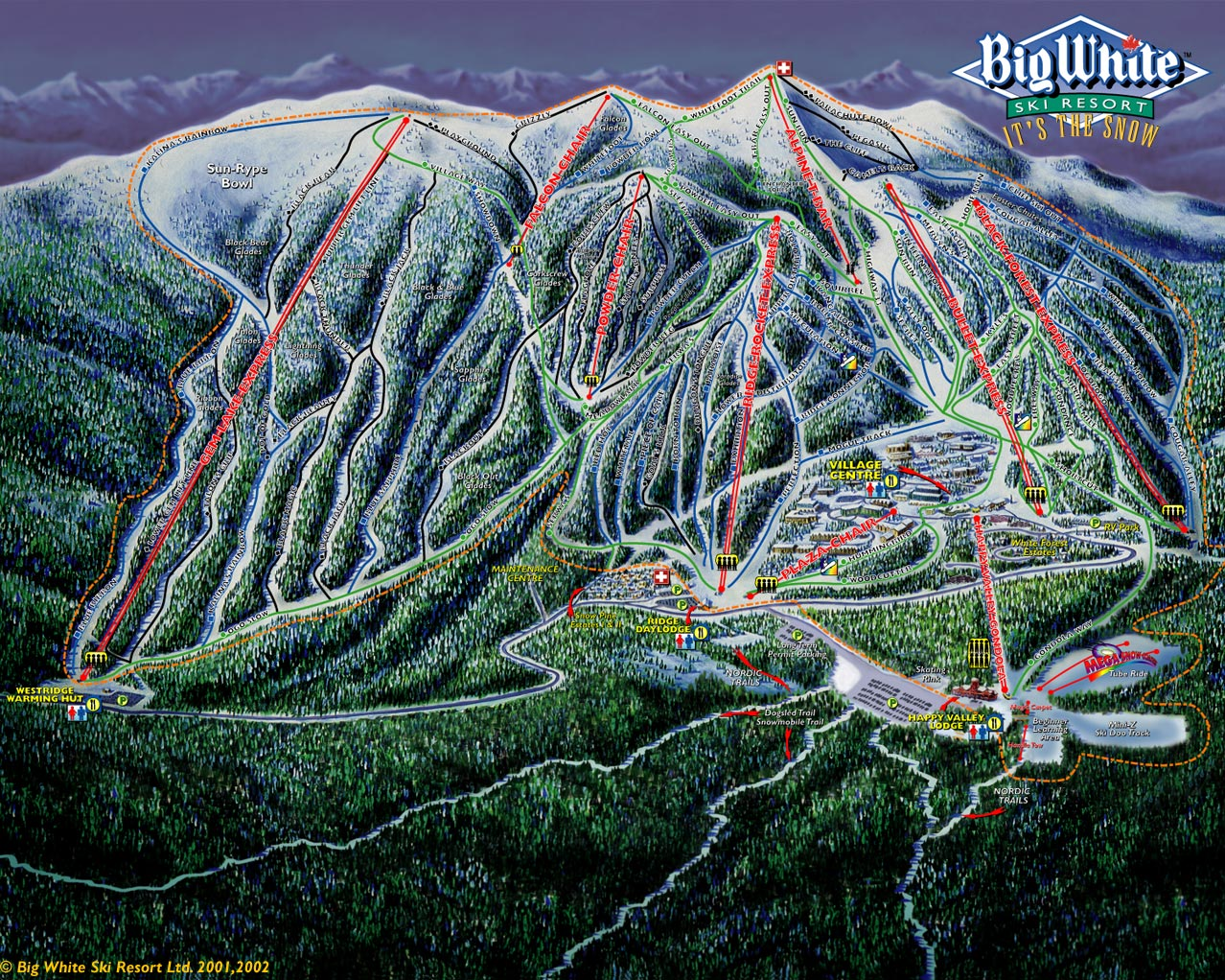 Ski Resorts In New Hampshire