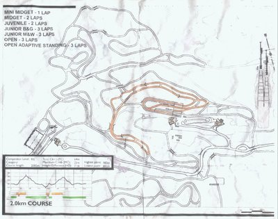 2007 Coast Cup 1 Race Map