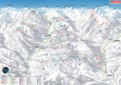 "New map of ""Ski circus"" - slightly different design"