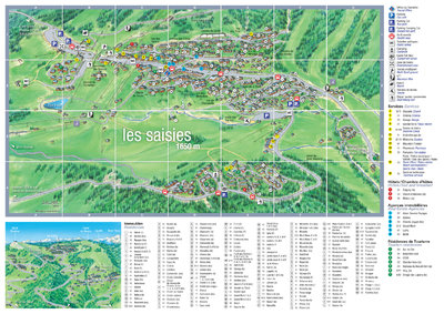 Village map for summer 2015