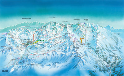 Val Thorens and Orelle