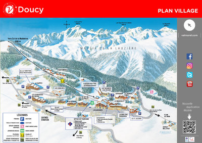 Map of Doucy