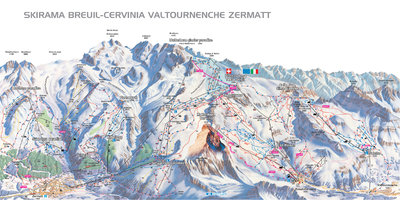 Piste map for 2015/2016 season.